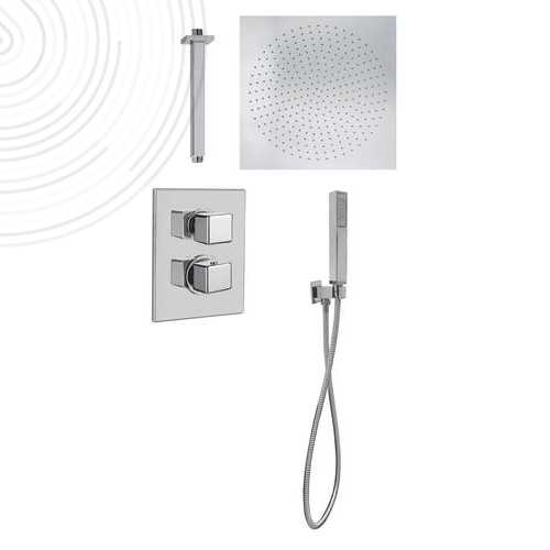 Combiné douche thermostatique a encastrer KUBLIC