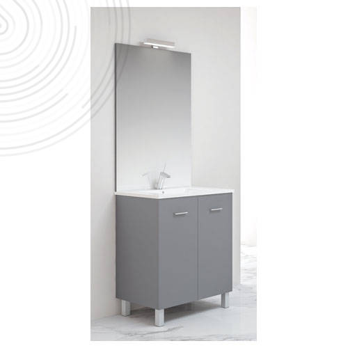 MEUBLE COMPLET NY HYDRO 70 GRAPHITE